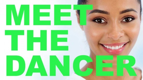 Meet the dancer banner image with Bianca Brookes from EDge dance company