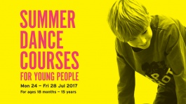 Summer Dance Courses for Young People 2017 at The Place
