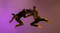 Richard Alston Dance Company - Ihsaan de Banya and Liam Riddick in Martin Lawrance's Cut and Run. Photo by Chris Nash
