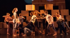 Shuffle youth dance company The Place